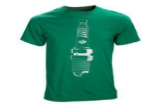 New Balance Dustin Pedroia Spark Plug Tee (green)(small)